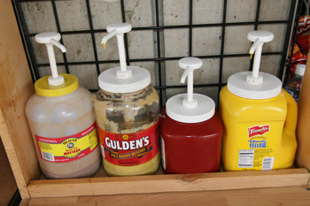 Our Condiment Bar