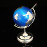 Photo Silver Globe