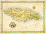 Antique Map of Jamaica