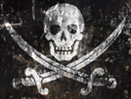 """Calico"" Jack Ratham's Jolly Roger"